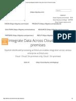 Cloud Data Integration Modern IPaas and Cloud-On-Premise Diyotta