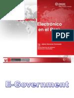 Egoverment en Peru 2011