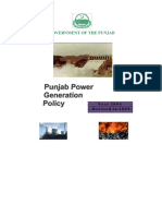 Punjab Power Generation Policy 2006