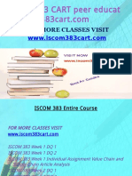 ISCOM 383 CART Peer Educator-Iscom383cart.com