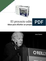 El Proyecto Editorial