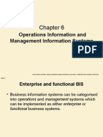 Operations Information and Management Information Systems