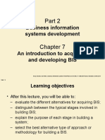 Business information systems development