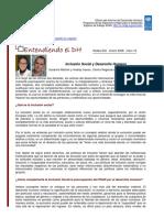 Inclusión Social y Desarrollo Humano 2008 Sp