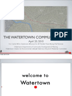 Watertown Community Path Presentation