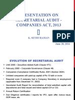 Presentation on Secretarial Audit-ICSI-Vile Parle-28.06.14