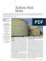 Safety in Sulfuric Acid Storage Tanks - Chem. Eng. 11-2015