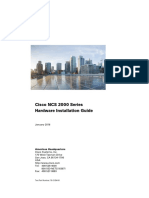 Cisco NCS 2000 Series Hardware Installation Guide
