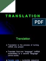 Biovet 2 - Kuliah - Translasi - Slide Kuliah Translasi (PDF)