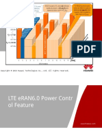 3 LTE ERAN6.0 Power Control Feature ISSUE1.00
