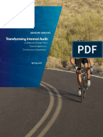 Transforming Internal Audit
