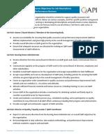 Ex PerformanExamples of Performance Objectives for Job Descriptions ce Objectives Job Desc
