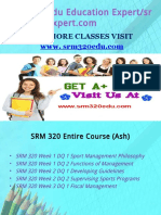 SRM 320 Edu Education Expert /srm320eduexpert.com