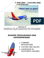 Culture and Leadership of Southwest Airlines