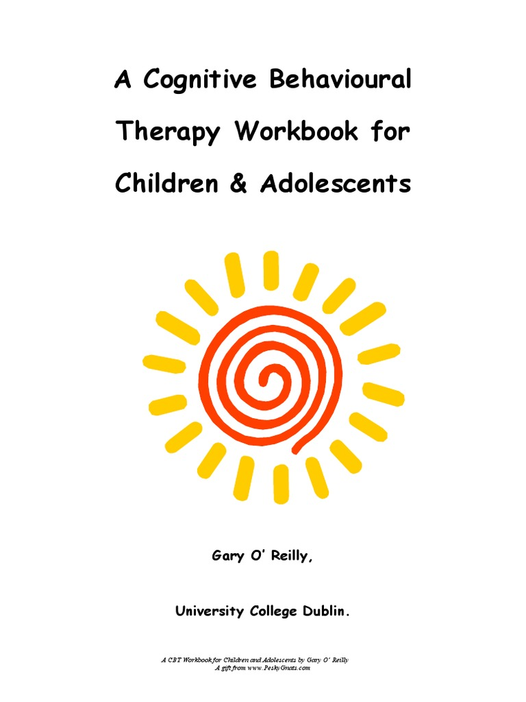 Workbooks tf cbt workbook for children : Cognitive therapy with children | Cognitive Behavioral Therapy ...