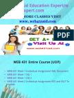 WEB 431 Aid Education Expert /web431aidexpert.com