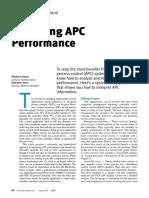 Analyzing APC Performance - Chemical Engineering Progress - Aug 2002