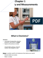 Chapter 1 Chemistry and Measurements