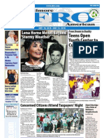 Baltimore Afro-American Newspaper, May 15, 2010