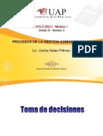 Ayuda 3.1. Toma de Decisiones