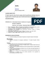 Prakash Abraham Resume Nebosh Igc