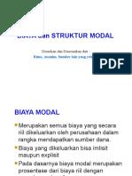 Pertemuan 6_Biaya Dan Struktur Modal