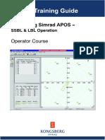CTG Kongsberg Simrad (Operator Course)