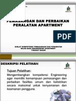JOb Pekerjaan Engineering Apartment Lampu Dan KWH Meter