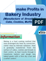 How to make Profits in Bakery Industry (Manufacture of Bread, Biscuit, Cake, Cookies, Muffins, etc.)