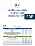 Edital Esquematizado Receita Federal