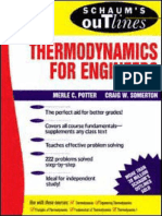 Thermodynamics Schaum