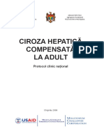 CIROZA HEPATICA COMPENSATA LA ADULTI