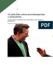 1 Curiosidades - 10 Películas Sobre Psicoterapeutas y Psiquiatras