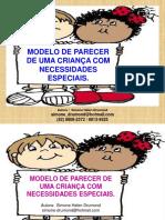 modelodeparecerdeumacrianacomnecessidadesespeciais-110403001020-phpapp01
