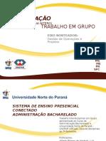 APRESENTAÇÃO 2014 UNOPAR
