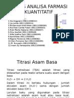 Kuantitatif Kelas a 2015