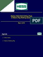 Pad Drilling - Hess