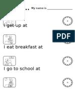 Children - Daily Routine