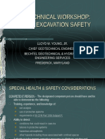 Geotechnical Excavation Safety Workshop