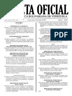 Gaceta Oficial número 40.902 (No Laborables).pdf