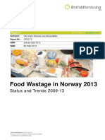 Food Waste in Norway 2013 - Status and Trends 2009-13