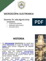 Seminario Microscopia Electronica