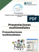Presentaciones Multimediales