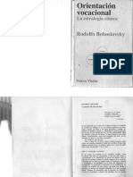 Orientación Vocacional La Estrategia Clínica Bohoslavsky