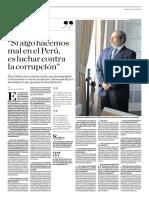 Si Algo Hacemos Mal en El Perú Es Luchar Contra La Corrupción