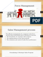 Sales Management Process