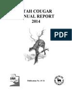 2014 Utah Cougar Annual Report