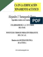 2- Acondicionamiento Acustico-Conceptos Generales