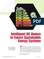 Intelligent DC homes