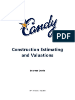 Candy Estimating and Valuations